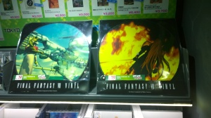 Final Fantasy VII Vinyl Records